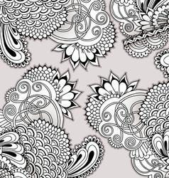 Hand drawn doodle ornament vector