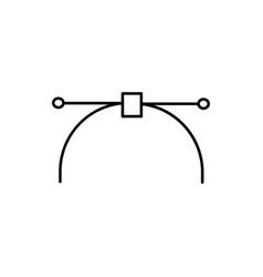 nodes icon vector image