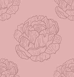Spring rampage seamless pattern vector
