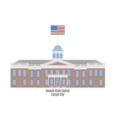Nevada state capitol vector