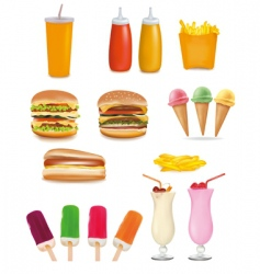 Fast-food vector