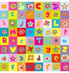 Flowers for kindergarten vector