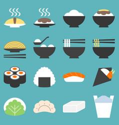 japan food icon vector image