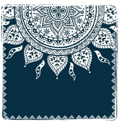 Beautiful ethnic ornament vector image vector image