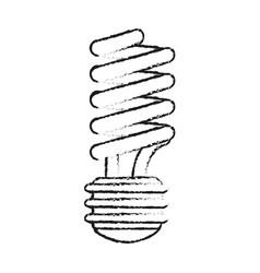 Blurred silhouette image cartoon fluorescent light vector