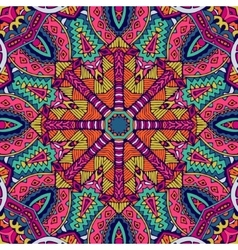 Colorful geometric seamless pattern vector