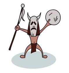 shaman vector image vector image
