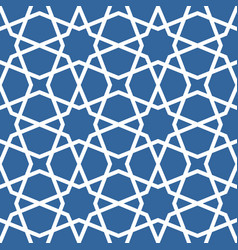 Seamless ethnic grating ornament - arabian pattern vector