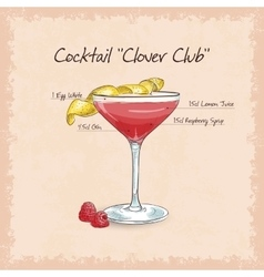 Clover club vector