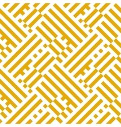 Op art seamless geometric striped pattern vector