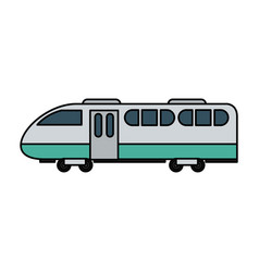 Train icon image vector