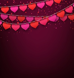 Love party celebration background vector