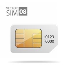 SimCard02 vector image