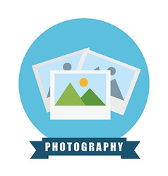 Pictures icon vector