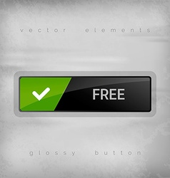 Free button vector