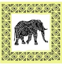 A tribal totem animal vector