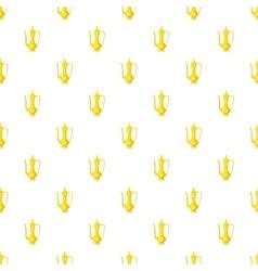 Arabic jug pattern cartoon style vector