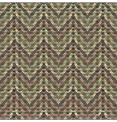Knitting pastel pattern sweater battlement vector