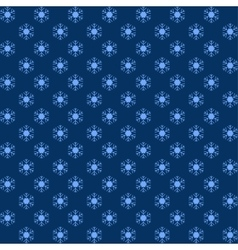 Packaging blue snowflakes for Christmas vector image vector image