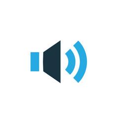sound colorful icon symbol premium quality vector image