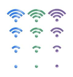 Wireless Icon vector image