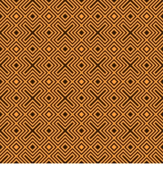 Geometry pattern orange vector