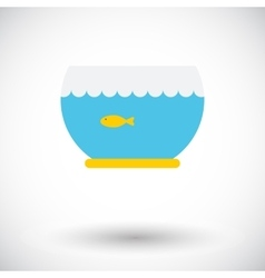 Aquarium icon vector
