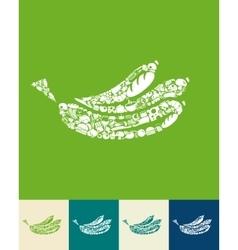 Banana icon vector