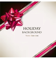 Elegant Holiday black and white background with vector image vector image