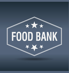 Food bank vector