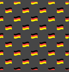 Germany flags seamless pattern vector