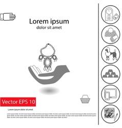 insuranse luxury items vector image vector image
