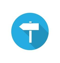 signposts vector image