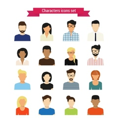 Characters set vector