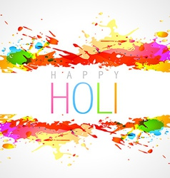 Colorful holi background vector