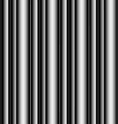 black and white stripped pattern vector image