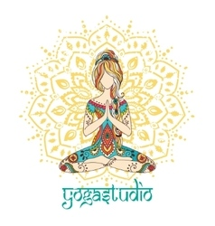 Yoga-10color vector