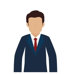 Man guy person suit tie vector