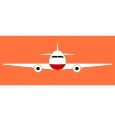 Airplane icons set collection silhouette vector