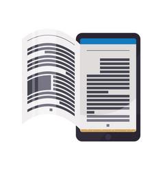 e-books books purchase and download vector image