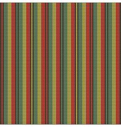 Knitting pattern sweater battlement line bright vector