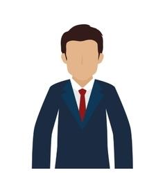 Man guy person suit tie vector