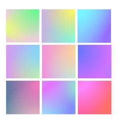 modern gradient set abstract background vector image