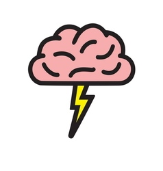 brain storming1 resize vector image