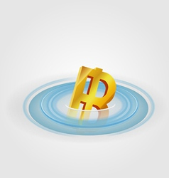 Bath Ripple Currency vector image