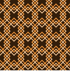Geometry pattern squares vector image vector image