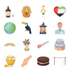 Rope alcohol world and other web icon in cartoon vector