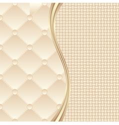 Textile background vector