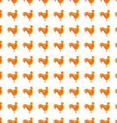 Abstract chicken pattern vector