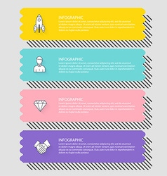 Infographic Templates for Business Can be used for vector image vector image